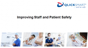 presentation outlining how to improve staff and patient safety
